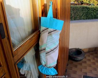 Grocery Bag Holder, Plastic Bag Storage, Bag Dispenser, Gift for her, Recycle and trash, Kitchen Bag Holder, bag storage, handmade.