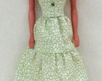 "print Handmade dress for 11.5"" fashion doll dress"