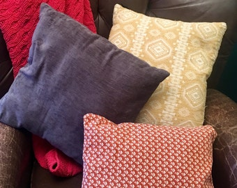 Pillow, Flannel, Home decor