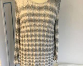 Ladies Hand Knitted Tunic