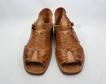 El Huarachero Model 1 Mexican Huaraches authentic leather