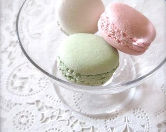 Sweet Interior Ceramic Macaron Sachet-Fragrance Object, Essential Oil Diffuser, Air Freshener, Home Decor, Wall Hanging