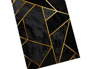 Black and Gold Notebook/Journal