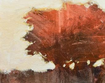 Landscape oil painting impressionist landscape tonal modern art original painting by Don Bishop