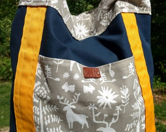 The Commuter Tote - Woodland