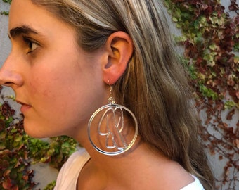 Round 'Florence' Earrings - Small