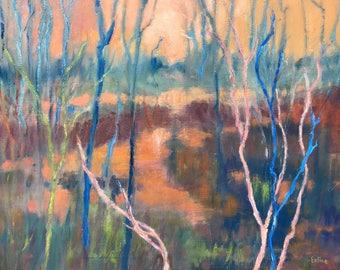 Evening Wetlands