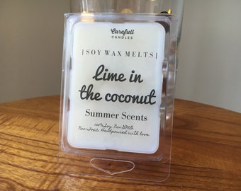Lime in the Coconut // Wax Melts // Coconut Lime • 100% Soy | Non-GMO | Non-Toxic