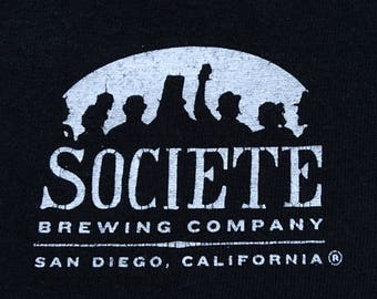 Societe brewing company shirt-craft beer-IPA-belgian ale -pale ale-stout beer