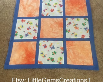 Baby quilt TOP New Handmade