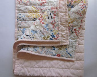 Organic Baby Quilt - Organic Toddler Quilt - Baby Quilt - Toddler Quilt - Baby Blanket - Toddler Blanket - Baby Bedding - Baby Shower Gift