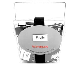 Firefly Magnetic Poetry / Refrigerator Magnets / Firefly Show Gift / Firefly Quotes / Firefly Serenity / Browncoats / Kaylee Firefly / Shiny