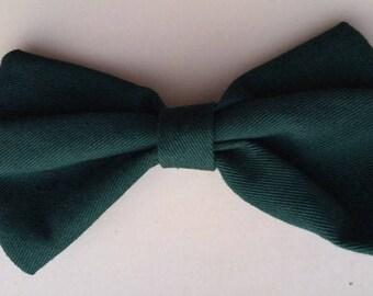 Earrings - forest green pattern