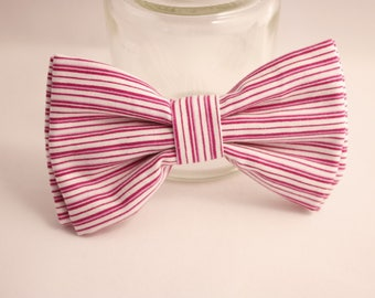 Cotton bow has small lines