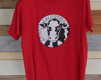 Vintage Real California Cow T-shirt