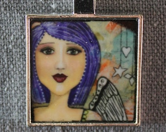 She Art Pendant - Jennifer