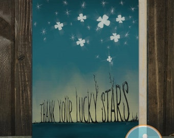 Thank Your Lucky Stars: A Card of Thanks