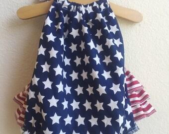 Liberty Ruffled Baby Girl Romper. Baby Girl Romper. Baby Bubble Romper. Baby Sun Suit.