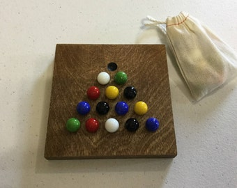 Solitaire, Game Board, Marble Jump, Glass Marbles, Wood, Game Boards, Wooden, Marble Game,
