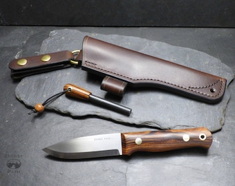 Bushcraft Knife / woodlore style / Survival Knife / Camping Knife / Hunting Knife/ Handmade knife/ Desert Ironwood