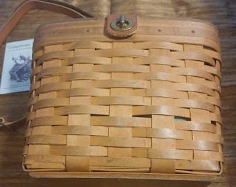 1996 Longaberger Basket Purse Combo - Longaberger Family signed/6 signatures   Style 18210