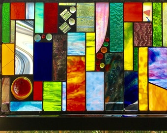 Stained glass funk and glitter and all the colors of the rainbow