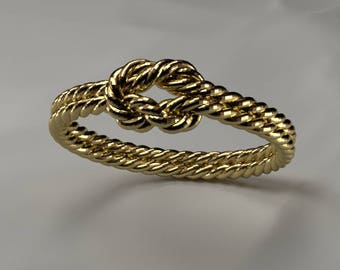 Sailor rope ring