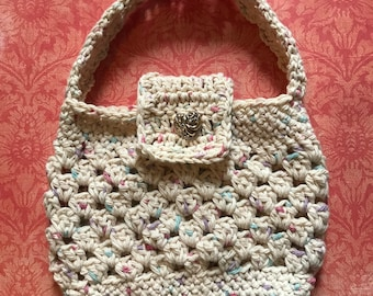 Toddler/Young Girl Crochet Shoulder Purse