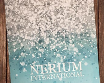 Nerium Blank Postcards