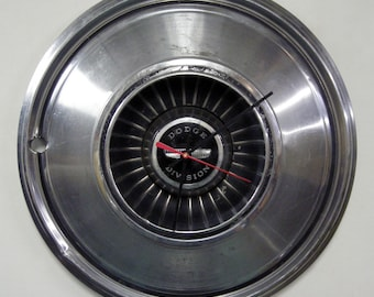 1976 Dodge Charger Wall Clock - 1972 - 1977 Polara Hub Cap Monaco Hubcap - 1973 1974 1975 - SALE