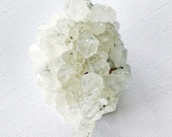 CRYSTAL cluster with PYRITE & CHLORITE