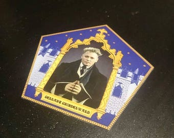 Grindelwald Chocolate Card