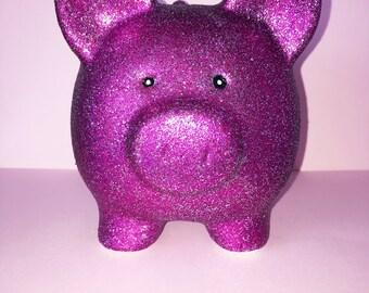 Isabelle Pink Piggy Bank