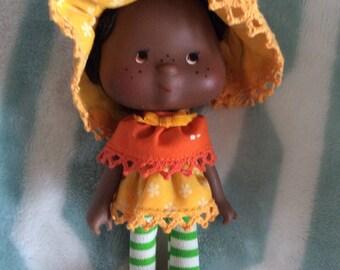 Vintage 1979 Strawberry Shortcake Orange Blossom Doll Kenner, Vintage Doll, Vintage Toy, Collectors Doll