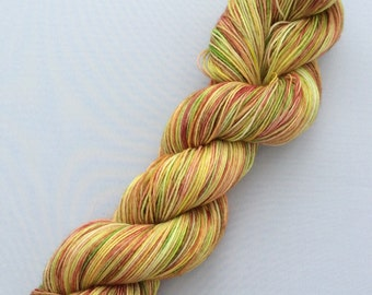 Roses are Red - hand-dyed BFL 3.5 oz 437yds