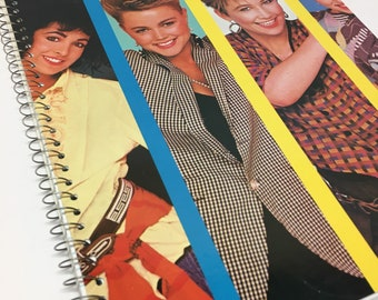 The Go Gos Recycled album cover notebook -