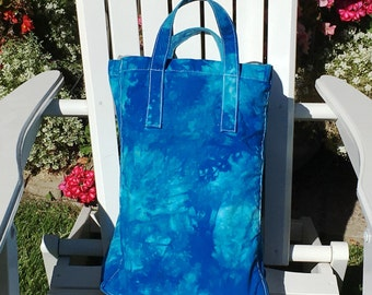Grocery Bag Tote Hand Dyed in the USA