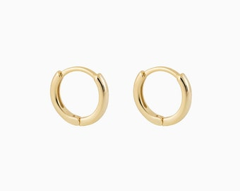 Tiny gold hoops - Small hoops - Small gold hoops - Small hoop earrings - Tiny hoop earrings - Dainty Earrings - Dainty Hoops - Minimal hoops