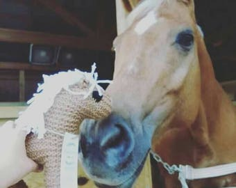 Custom Knitted Horse