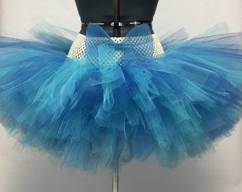Marble Blue Rave Tutu