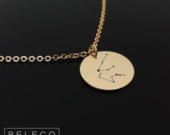 Zodiac Necklace, Zodiac Jewelry, Zodiac Sign Necklace, Constellation Necklace, Constellation Jewelry, Astrology Necklace, Astrology Jewelry