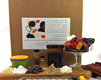 Complete DIY Candy and Chocolate Making Kit - Learn how to make home made candies