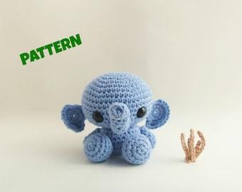 Amigurumi Elephant Doll Pattern, Crochet Baby Pattern, Amigurumi Baby Pattern, Crochet Pattern, Amiguurmi Patterns, Baby Doll Pattern,
