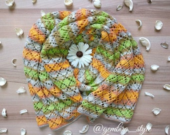 Scarf from cotton