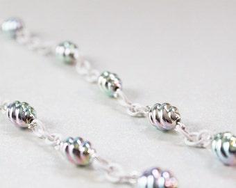 Metallic Pastel Unicorn Necklace