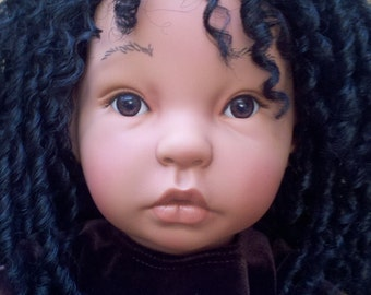 Reserved for Janice 22 Inch Handmade Ethnic Doll Benni