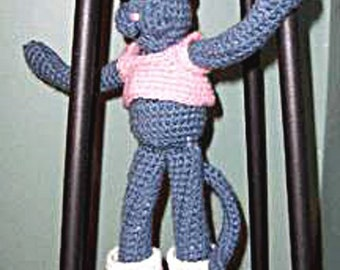 Crochet Pattern,  Cat Doll