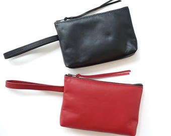 Luxury Leather Purse with Strap