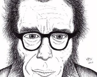 Isaac Asimov (sketch)