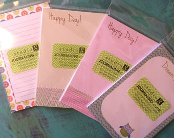 Journaling cards - pack of 4